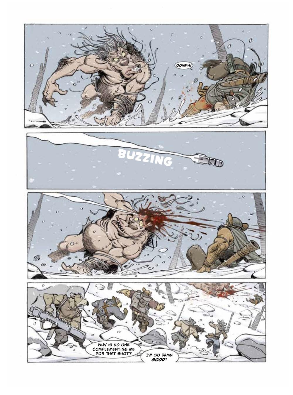 Solo2-3 ComicList Previews: OSCAR MARTIN'S SOLO VOLUME 2 HC