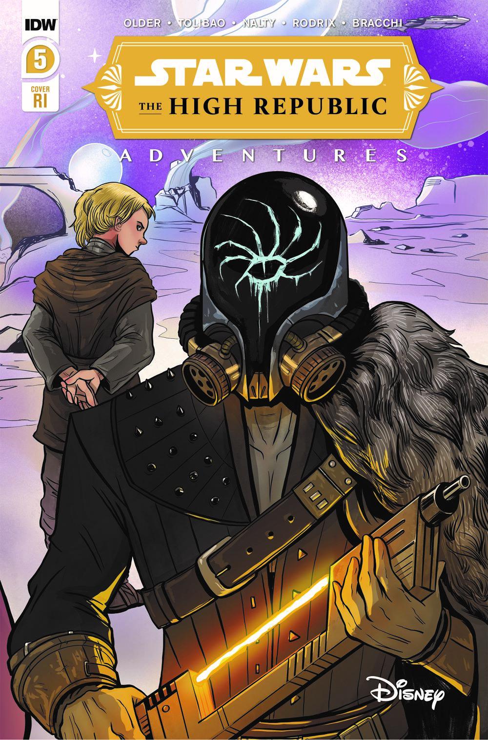 StarWarsHighRepublic-05-RI ComicList: IDW Publishing New Releases for 06/16/2021