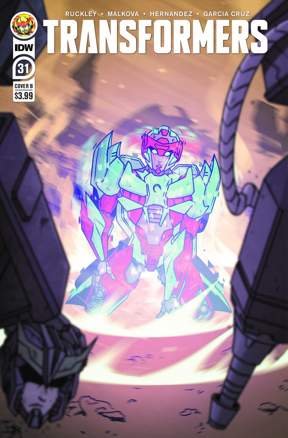 TF31-cvr-B ComicList: IDW Publishing New Releases for 06/23/2021