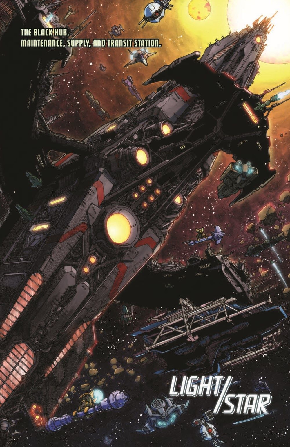 TFAnnual-pr-3 ComicList Previews: TRANSFORMERS ANNUAL 2021