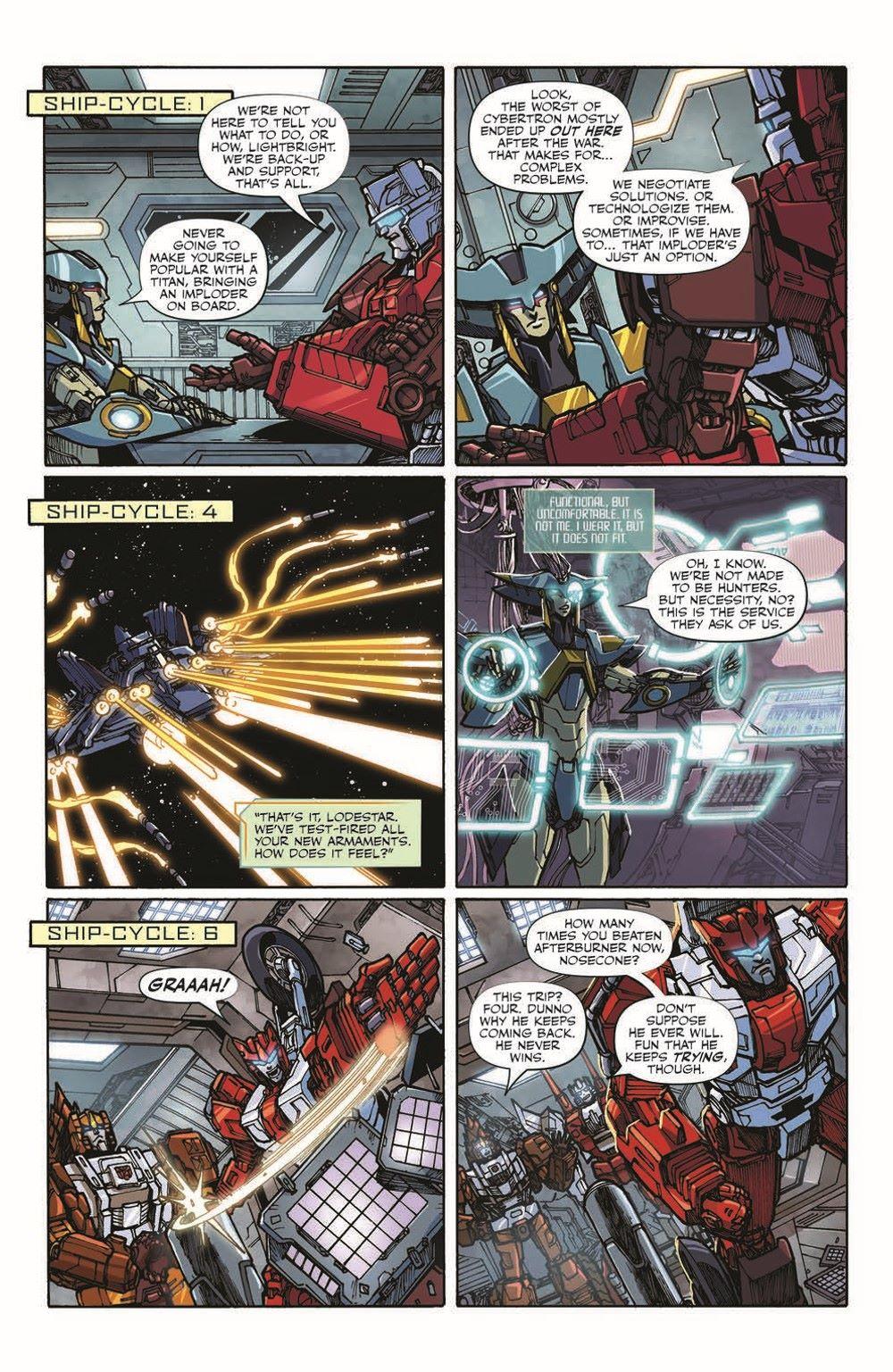 TFAnnual-pr-5 ComicList Previews: TRANSFORMERS ANNUAL 2021