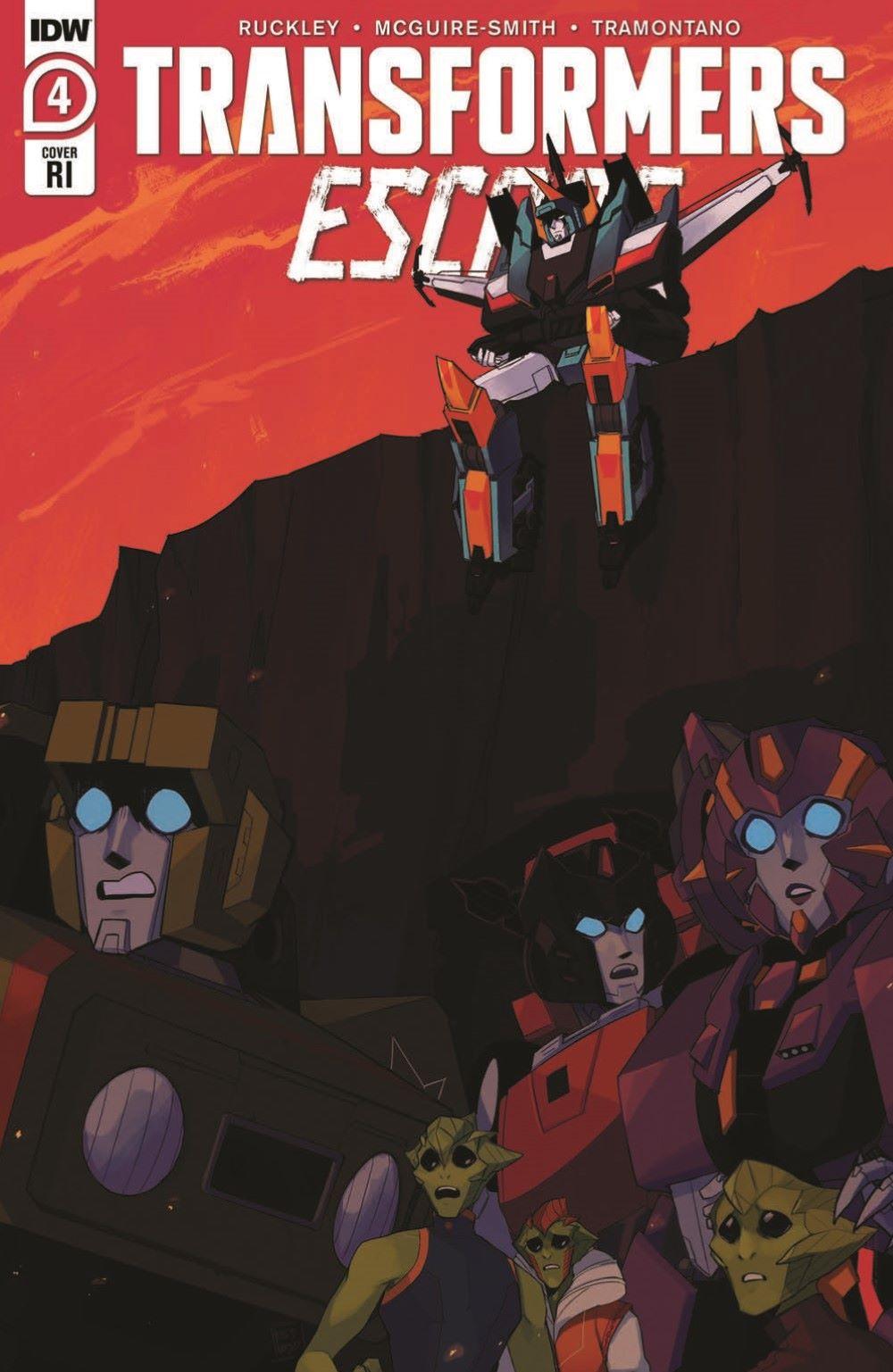 TFEscape04-pr-3 ComicList Previews: TRANSFORMERS ESCAPE #4 (OF 5)