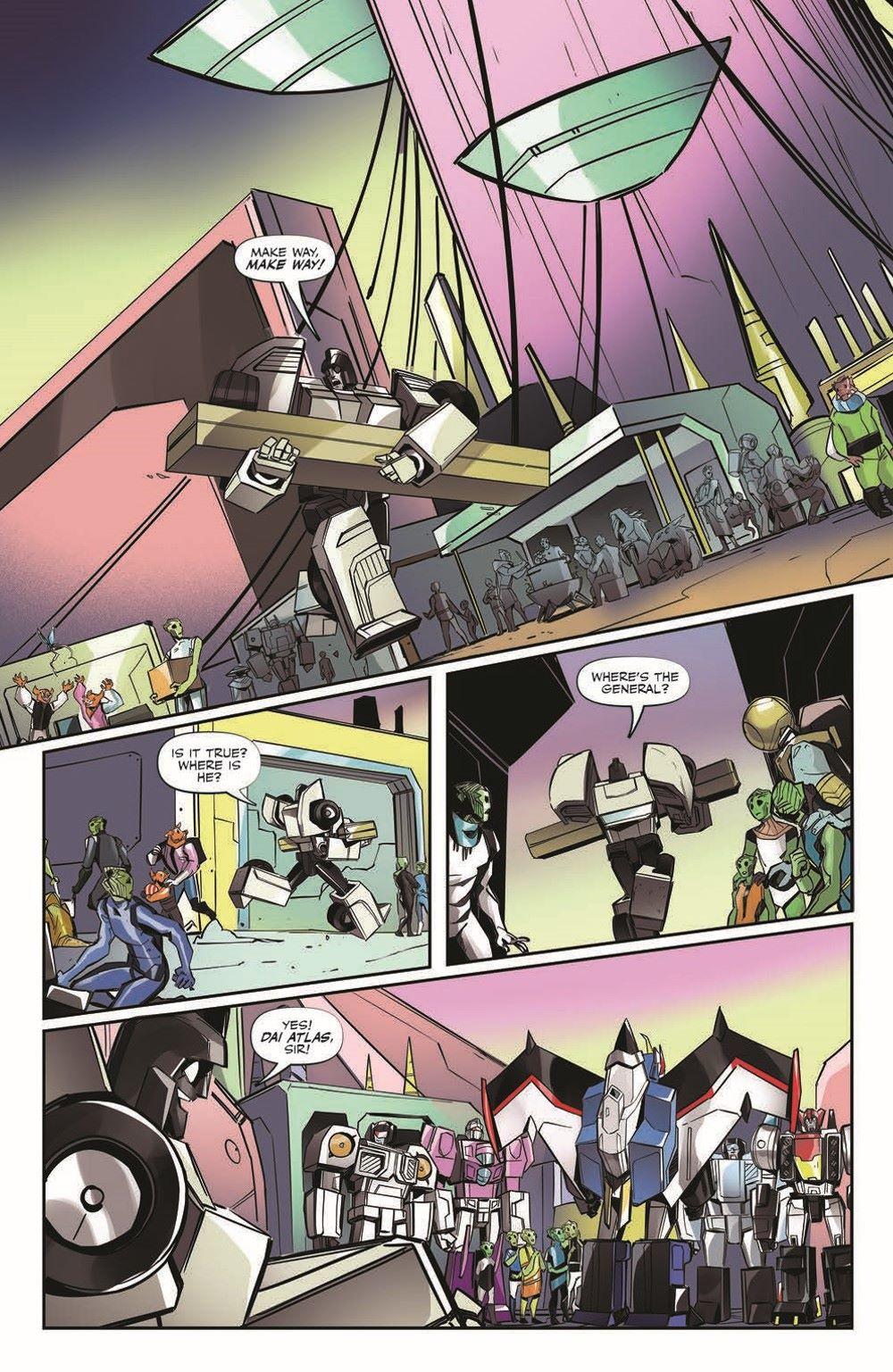 TFEscape04-pr-5 ComicList Previews: TRANSFORMERS ESCAPE #4 (OF 5)