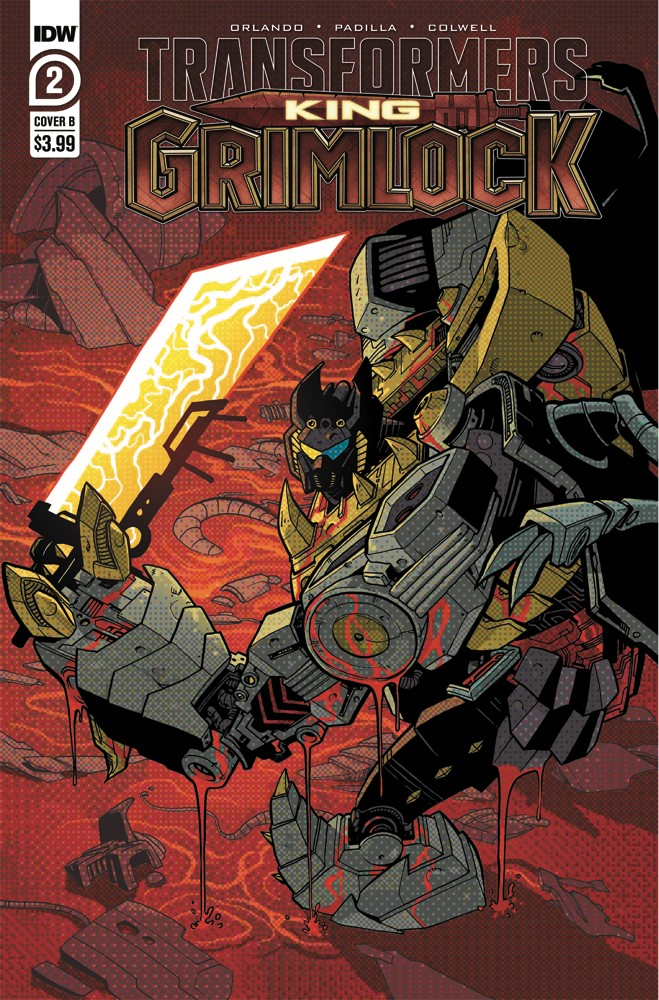 TFGrimlock-02-Cover-B IDW Publishing September 2021 Solicitations