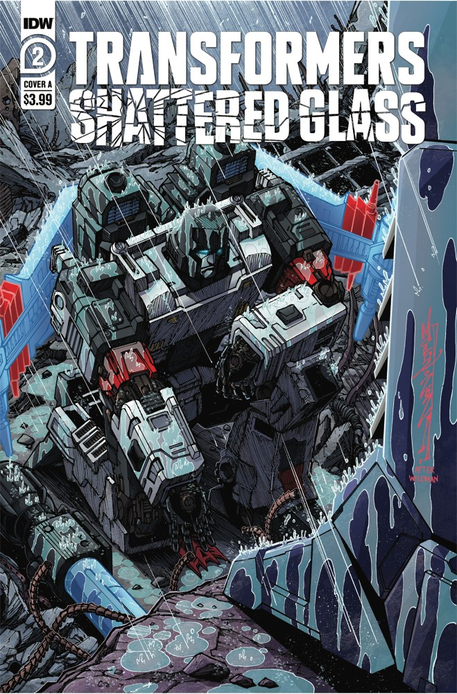 TFShatteredGlass02-Cover-A-IDW IDW Publishing September 2021 Solicitations
