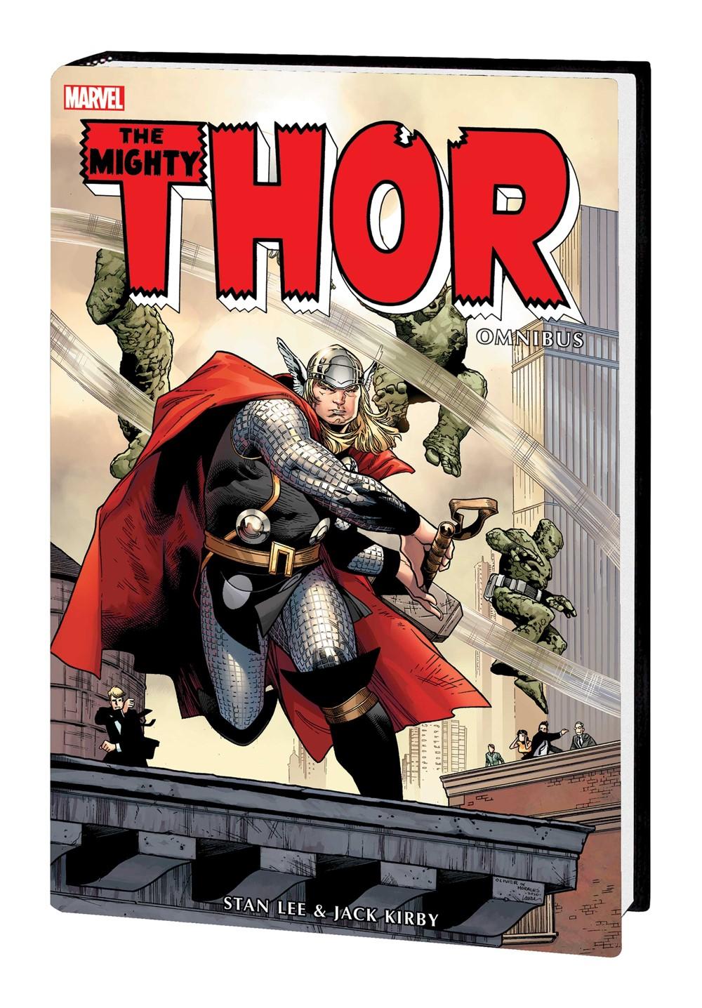 THOR_OMNI_V1_HC Marvel Comics September 2021 Solicitations