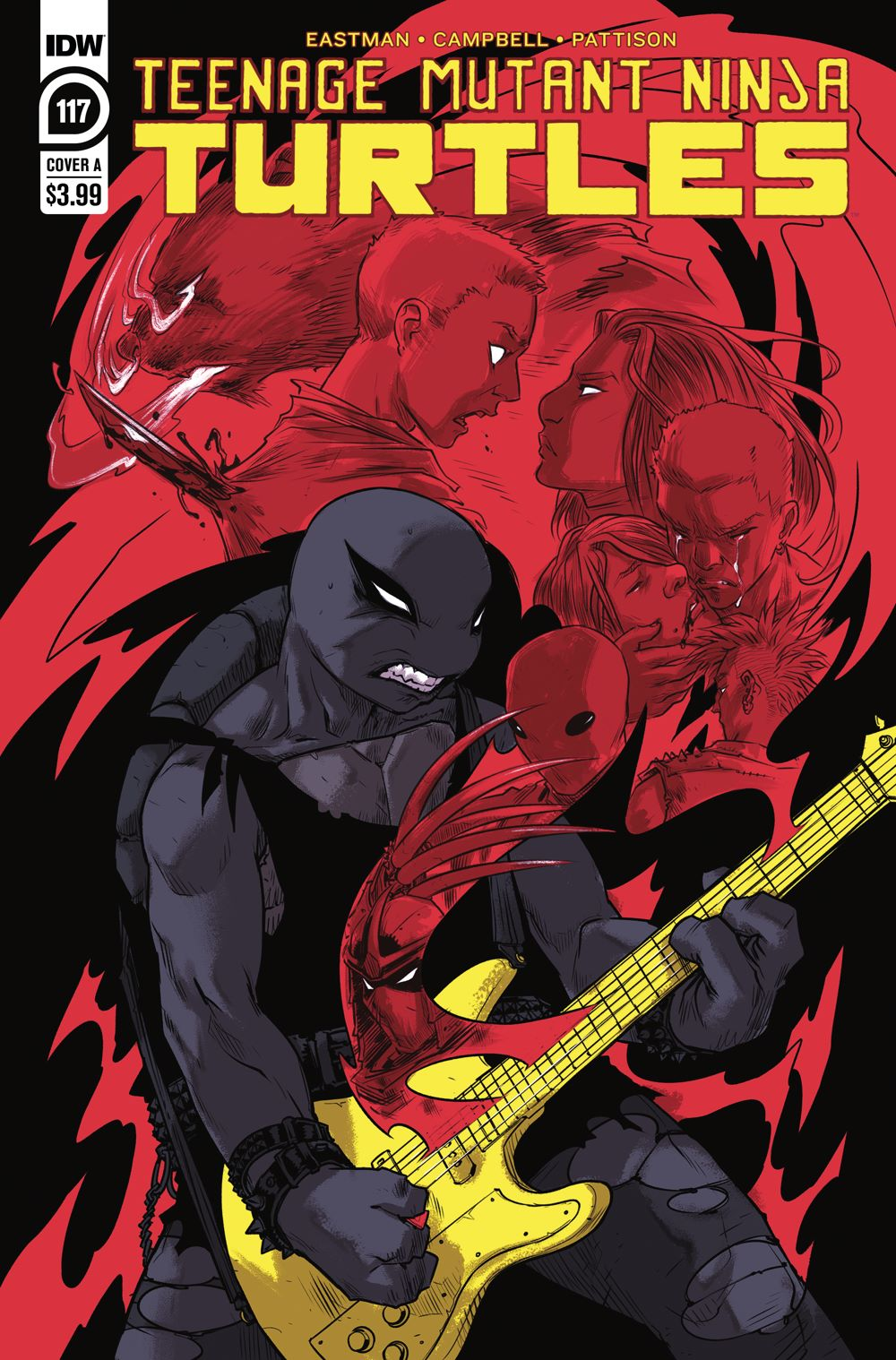 TMNT117_cvrA ComicList: IDW Publishing New Releases for 06/09/2021