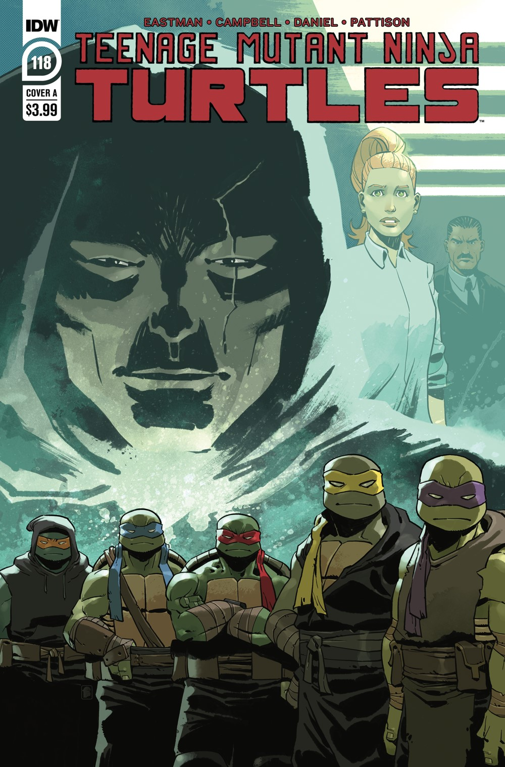 TMNT118_cvrA ComicList: IDW Publishing New Releases for 06/23/2021