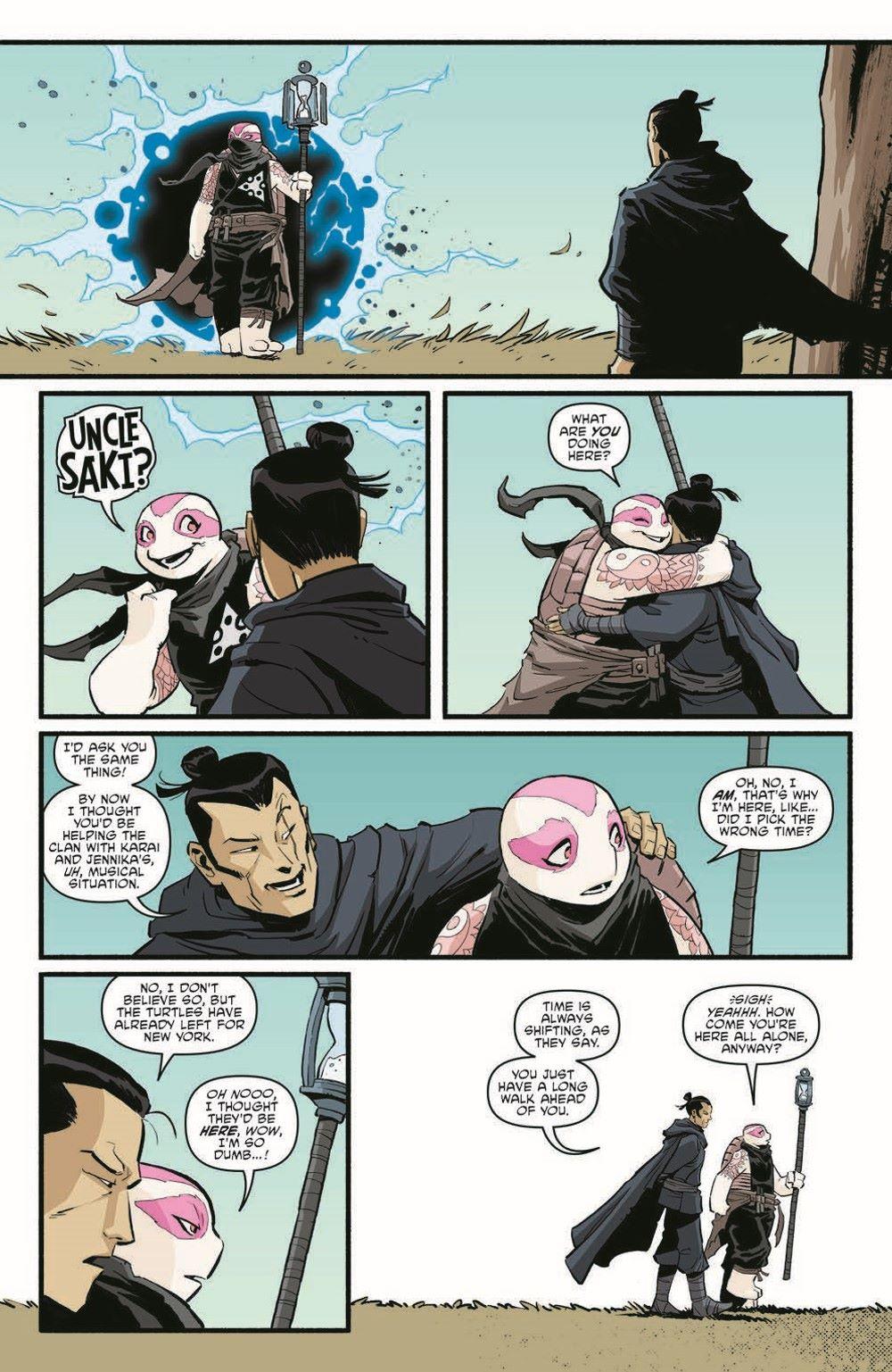 TMNT118_pr-4 ComicList Previews: TEENAGE MUTANT NINJA TURTLES #118