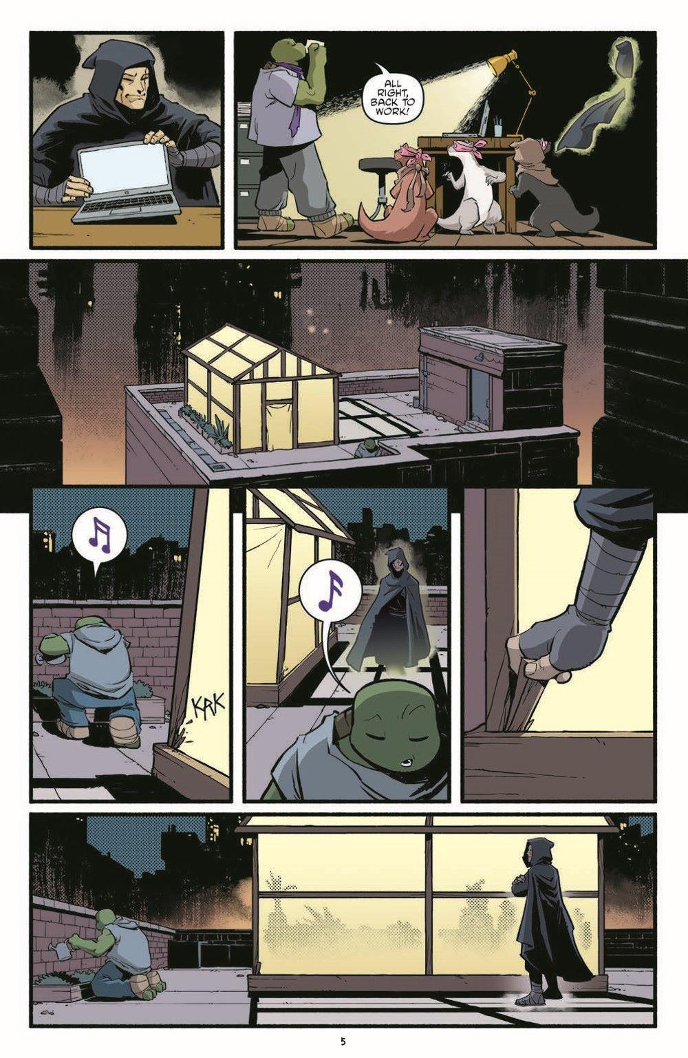 TMNT118_pr-7 ComicList Previews: TEENAGE MUTANT NINJA TURTLES #118