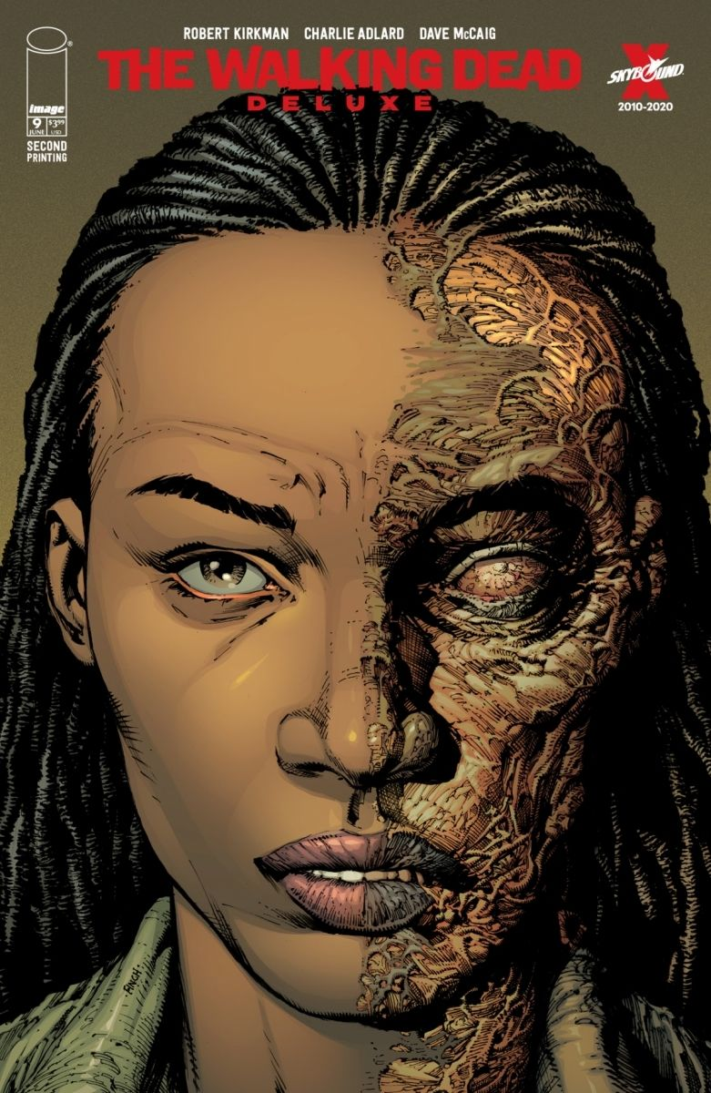 TWDDLX09A_2ndPtg_Finch1_c6815a0147f8285e3b5042ebb3626151-2 THE WALKING DEAD DELUXE #7-12 return with new printings