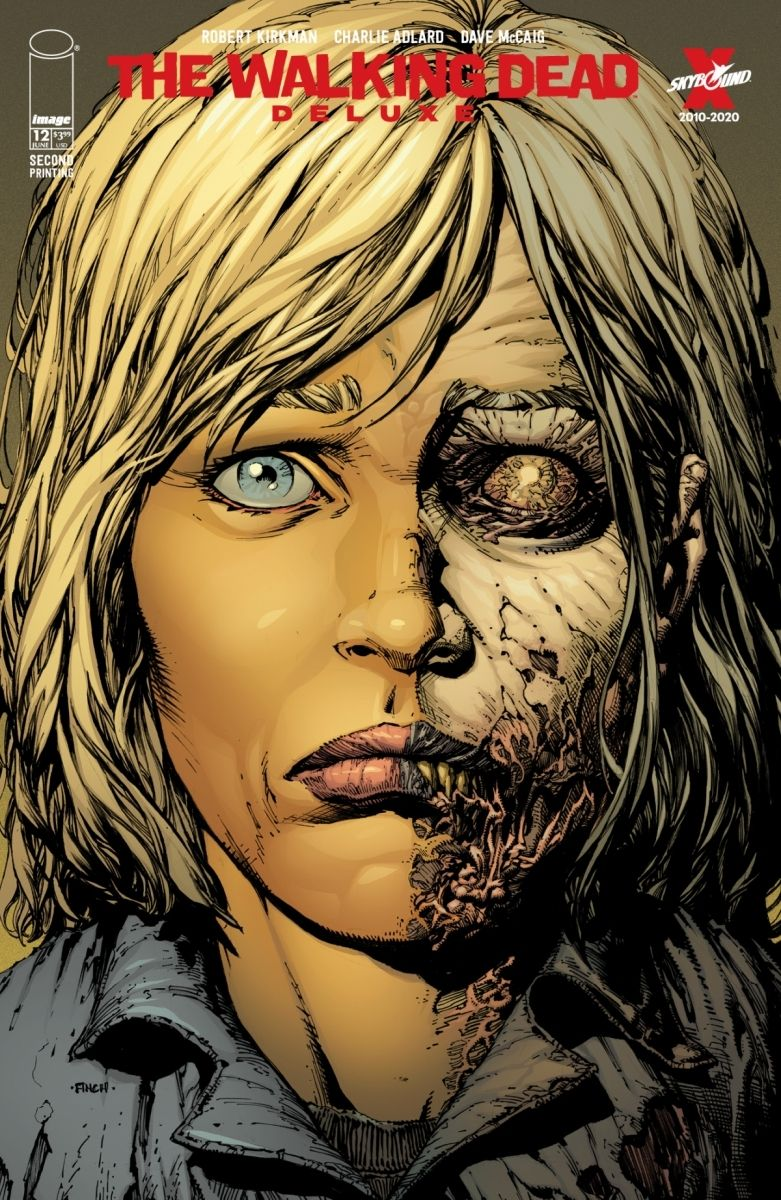 TWDDLX12A_2ndPtg_Finch1_c6815a0147f8285e3b5042ebb3626151-2 THE WALKING DEAD DELUXE #7-12 return with new printings