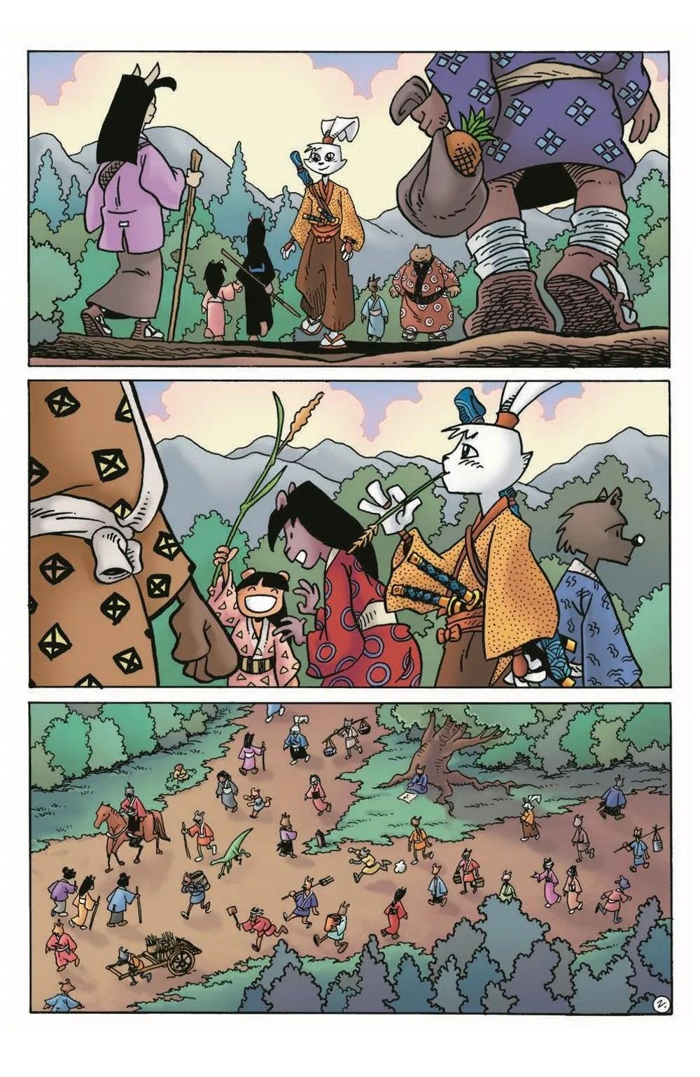 Usagi20_pr-4 ComicList Previews: USAGI YOJIMBO #20
