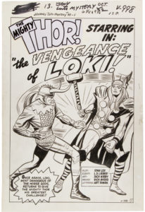 Vengeance-of-Loki-Original-Art-by-Kirby-and-Ayers-e1623347416178-206x300 Loki Original Art at Auction: Just In Time for Disney+