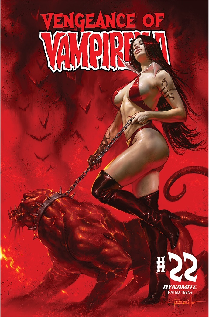 VoV21-21011-A-Parrillo Dynamite Entertainment September 2021 Solicitations