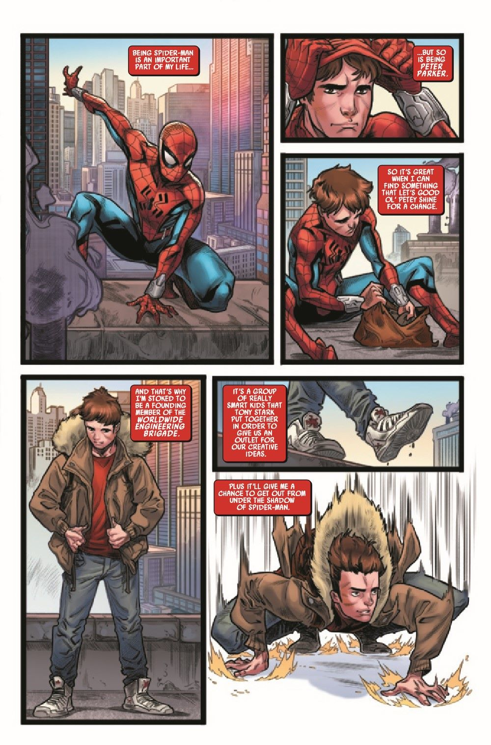 WEBOFSM2020001_Preview-3 ComicList Previews: W.E.B. OF SPIDER-MAN #1 (OF 5)