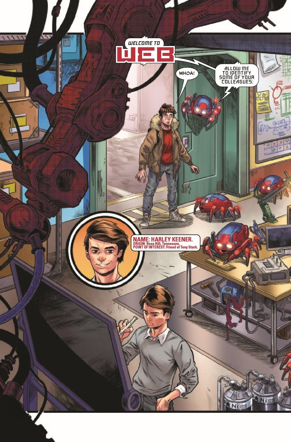 WEBOFSM2020001_Preview-5 ComicList Previews: W.E.B. OF SPIDER-MAN #1 (OF 5)