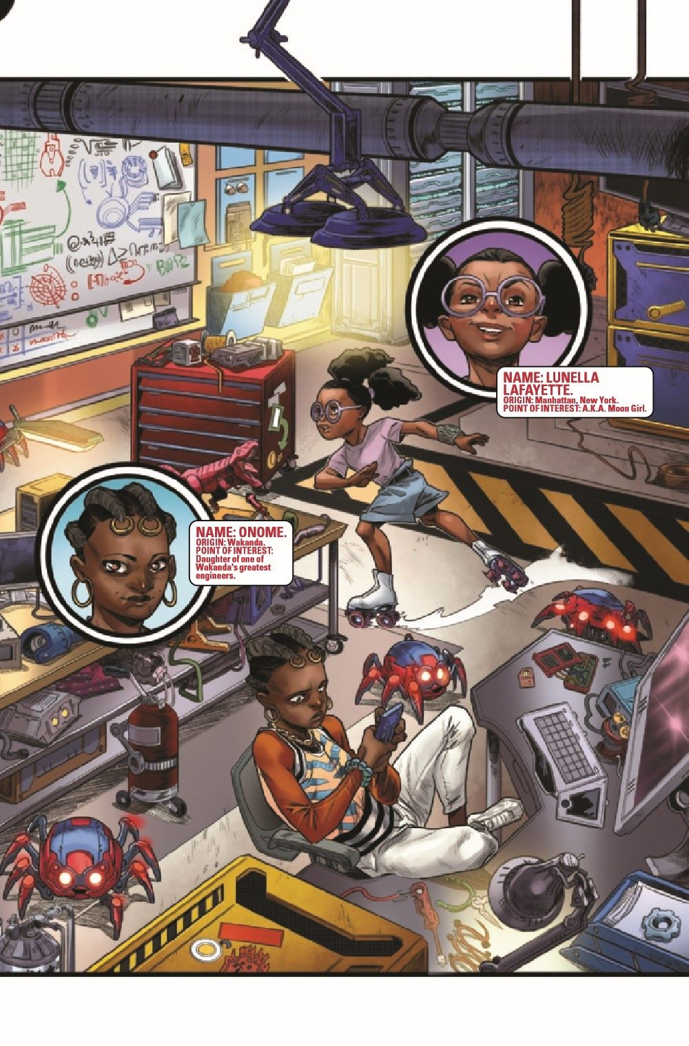WEBOFSM2020001_Preview-6 ComicList Previews: W.E.B. OF SPIDER-MAN #1 (OF 5)