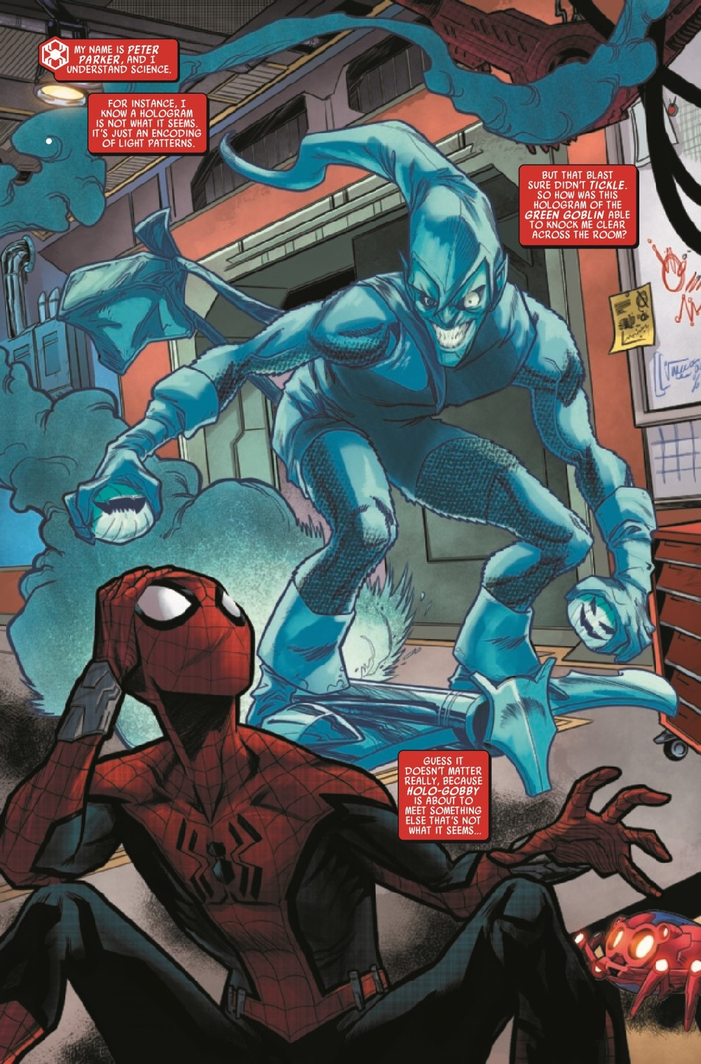 WEBOFSM2020002_Preview-3 ComicList Previews: W.E.B. OF SPIDER-MAN #2 (OF 5)