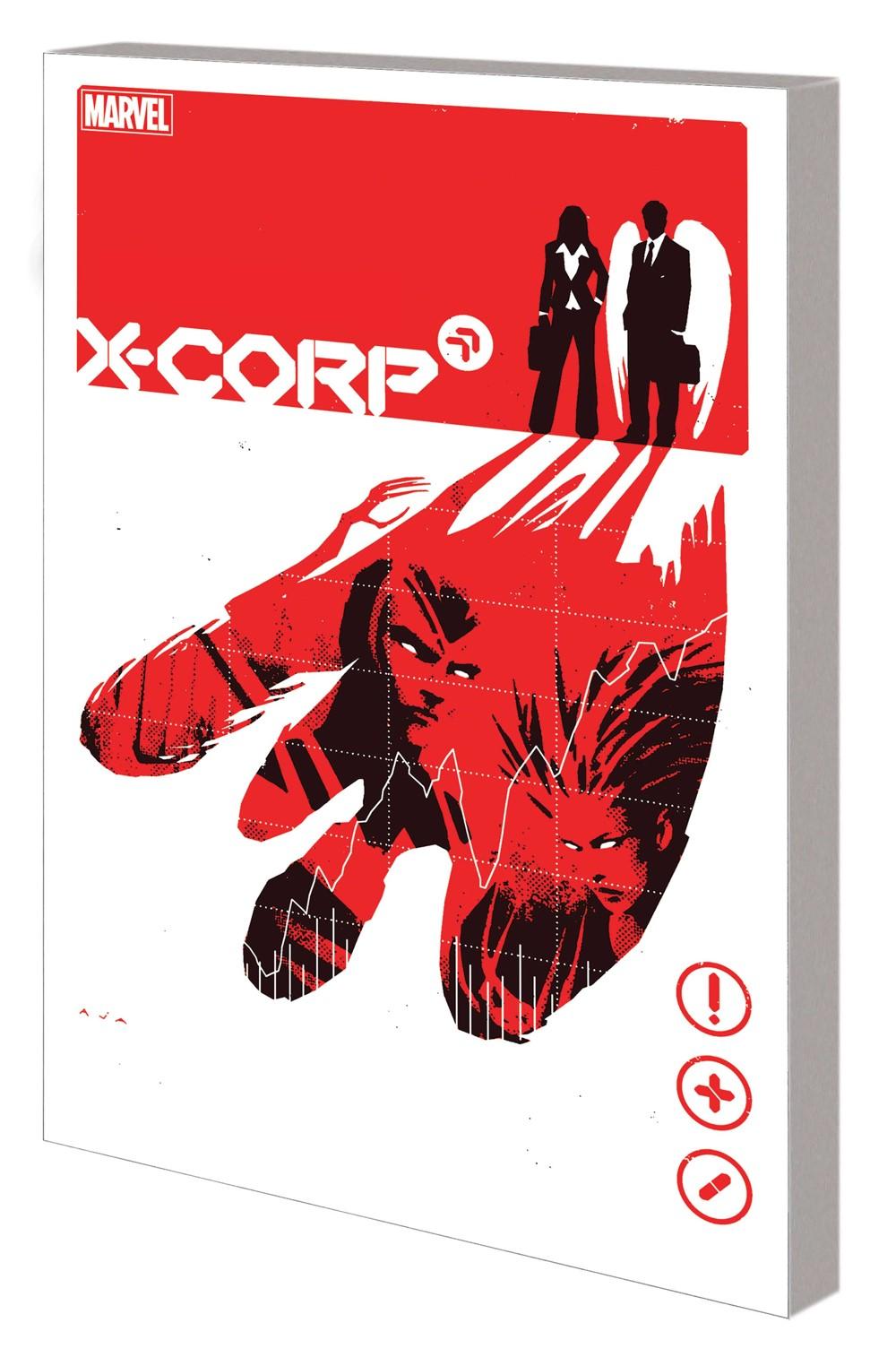 XCORP_VOL_1_TPB Marvel Comics September 2021 Solicitations