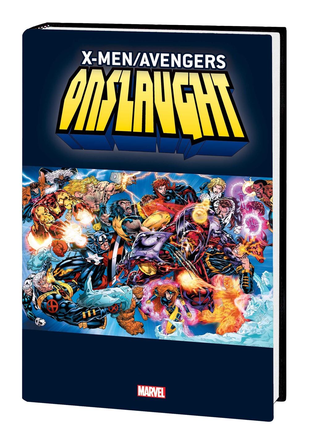 XMAVEN_ONSLAUGHT_OMNI_HC_VAR Marvel Comics September 2021 Solicitations