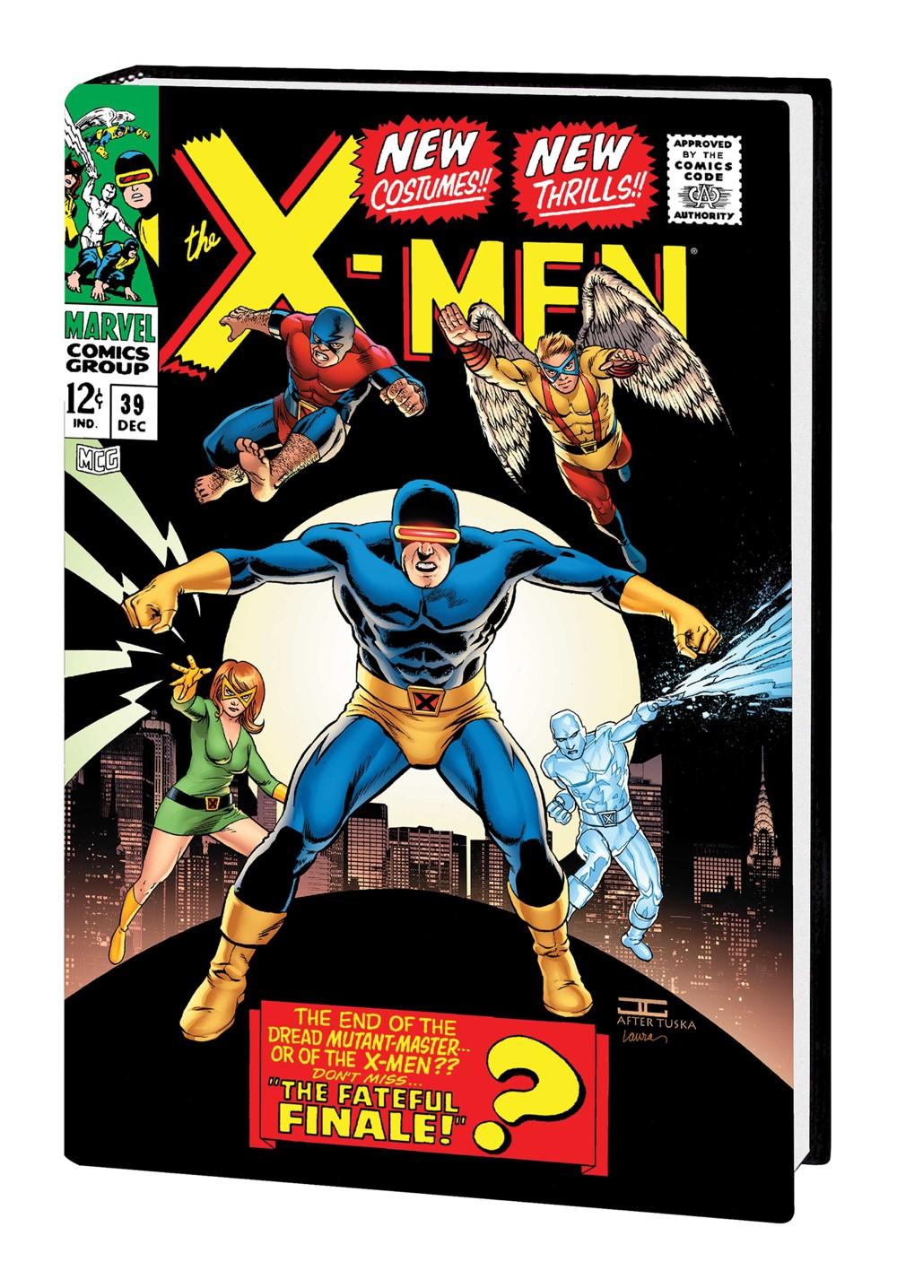 XMEN_OMNI_V2_HC_CASSADAY-1 Marvel Comics September 2021 Solicitations