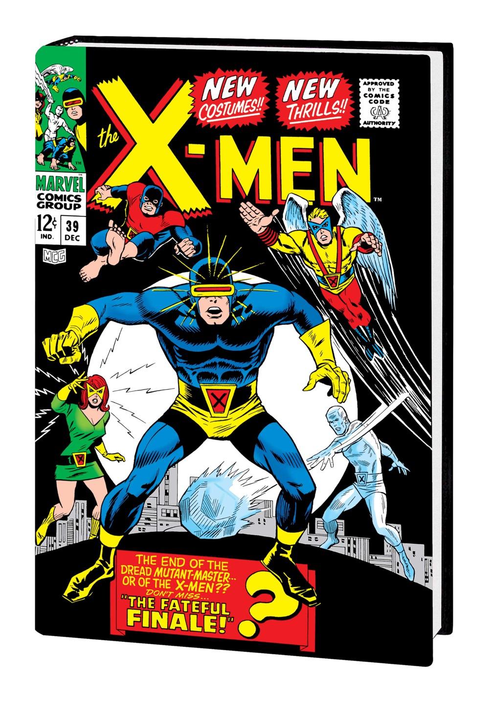 XMEN_OMNI_V2_HC_TUSKA Marvel Comics September 2021 Solicitations
