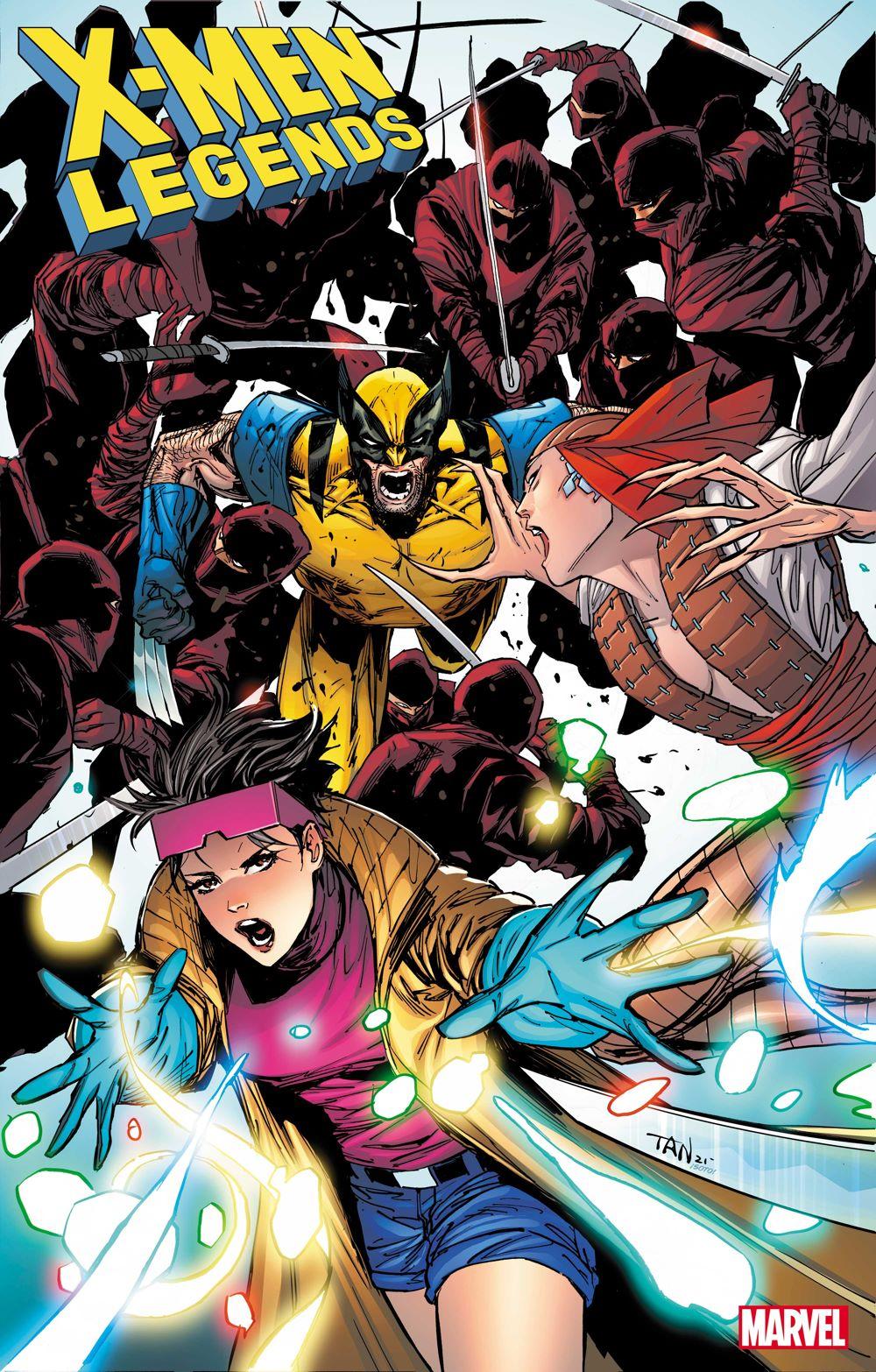 XMLEGENDS2021007_cover X-MEN LEGENDS #7 reunites Larry Hama and Wolverine