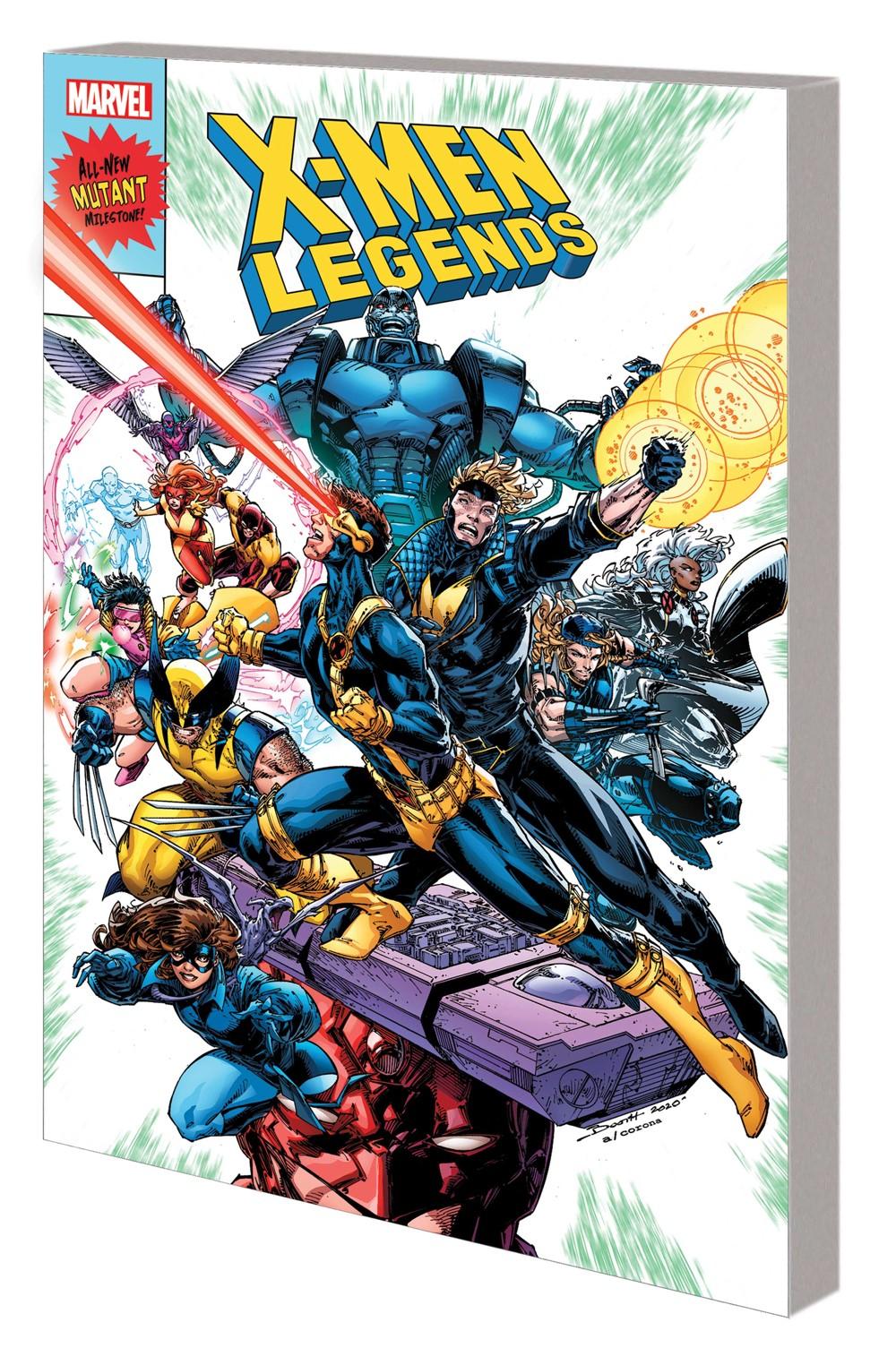 XMLEGENDS_VOL_1_TPB Marvel Comics September 2021 Solicitations