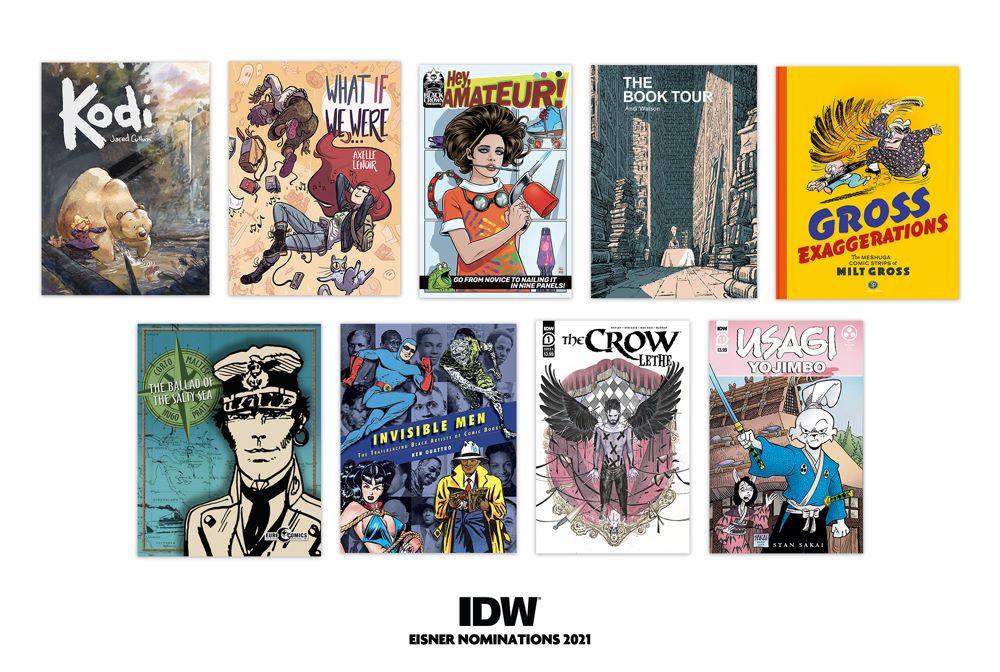 e06bbac8-3013-25d6-2b51-8bf33012267b IDW Publishing acquires eleven 2021 Eisner Award nominations