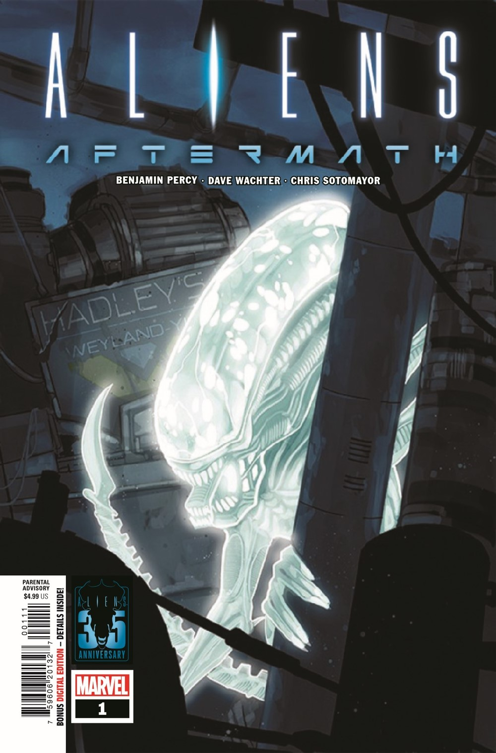 ALIENSAFTERMATH2021001_Preview-1 ComicList Previews: ALIENS AFTERMATH #1