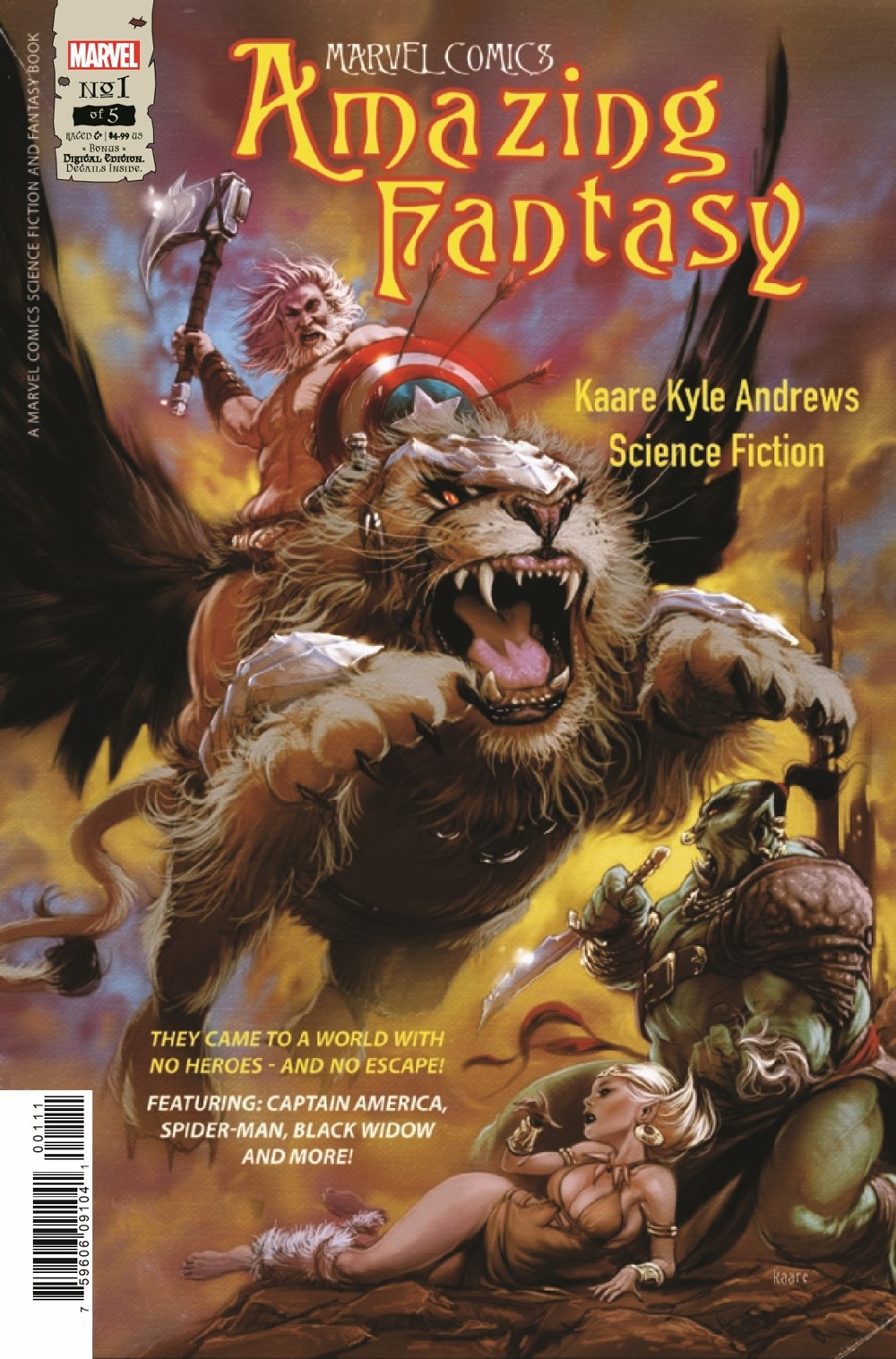 AMFAN2021001_Preview-1 ComicList Previews: AMAZING FANTASY #1 (OF 5)