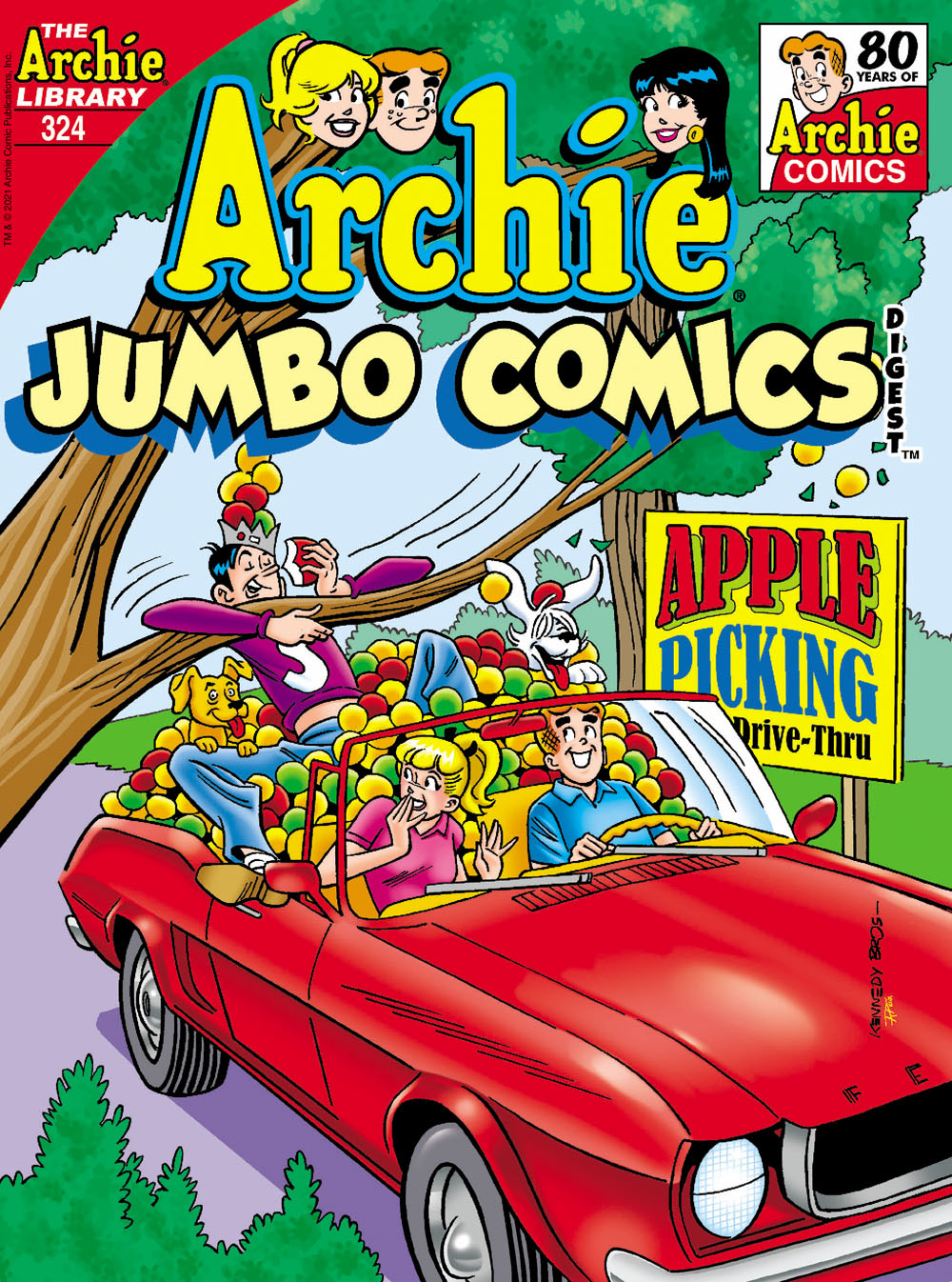 ARCHIEJumbo324 Archie Comic Publications October 2021 Solicitations