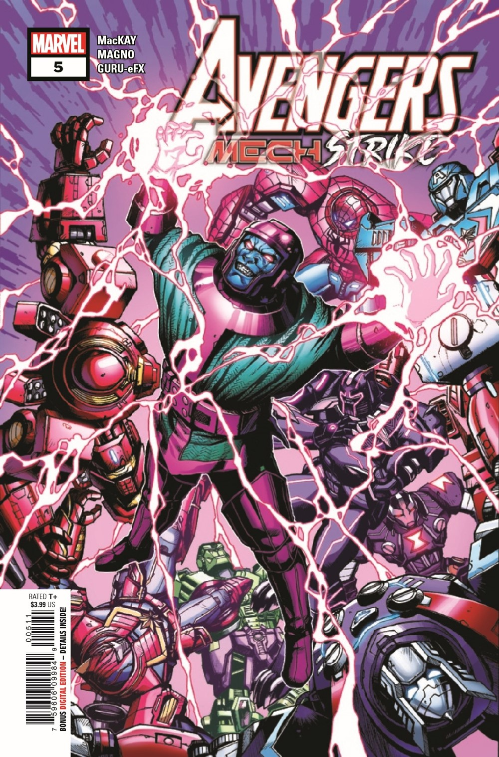 AVENMECHST2021005_Preview-1 ComicList Previews: AVENGERS MECH STRIKE #5 (OF 5)