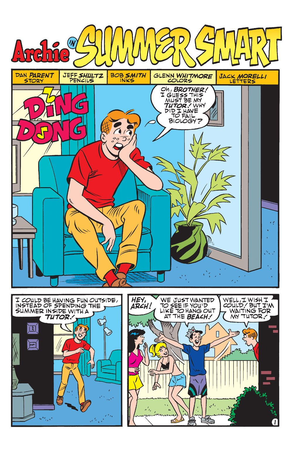 ArchieAndFriends-SummerVacation-18 ComicList Previews: ARCHIE AND FRIENDS SUMMER VACATION #1