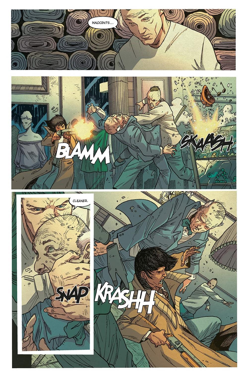 BR-Reunion-3 ComicList Previews: BLADE RUNNER 2029 VOLUME 1 REUNION TP
