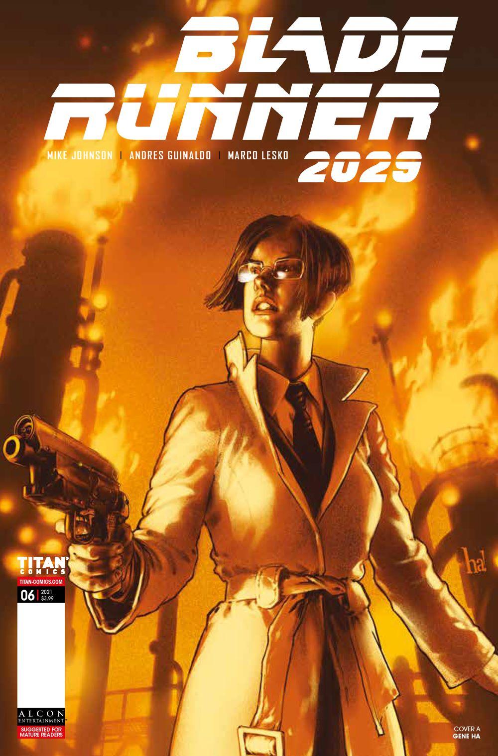 BR20296_CoversA_-HA ComicList Previews: BLADE RUNNER 2029 #6