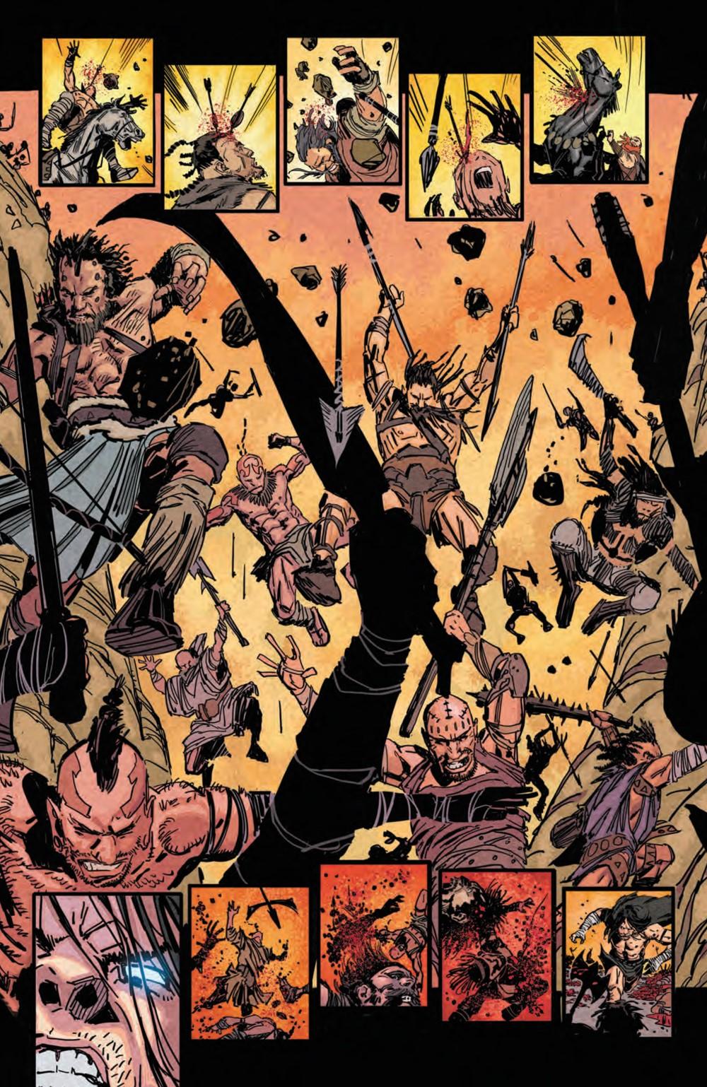 BRZRKR_004_PRESS_8 ComicList Previews: BRZRKR #4 (OF 12)