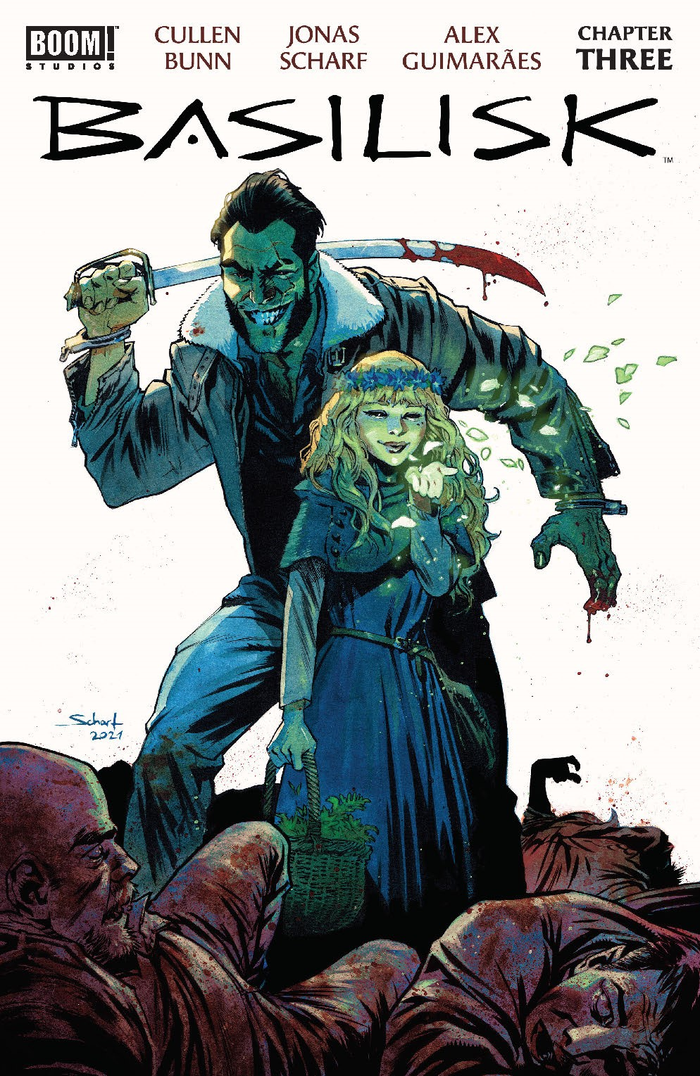 Basilisk_003_Cover_A_Main ComicList: BOOM! Studios New Releases for 08/04/2021