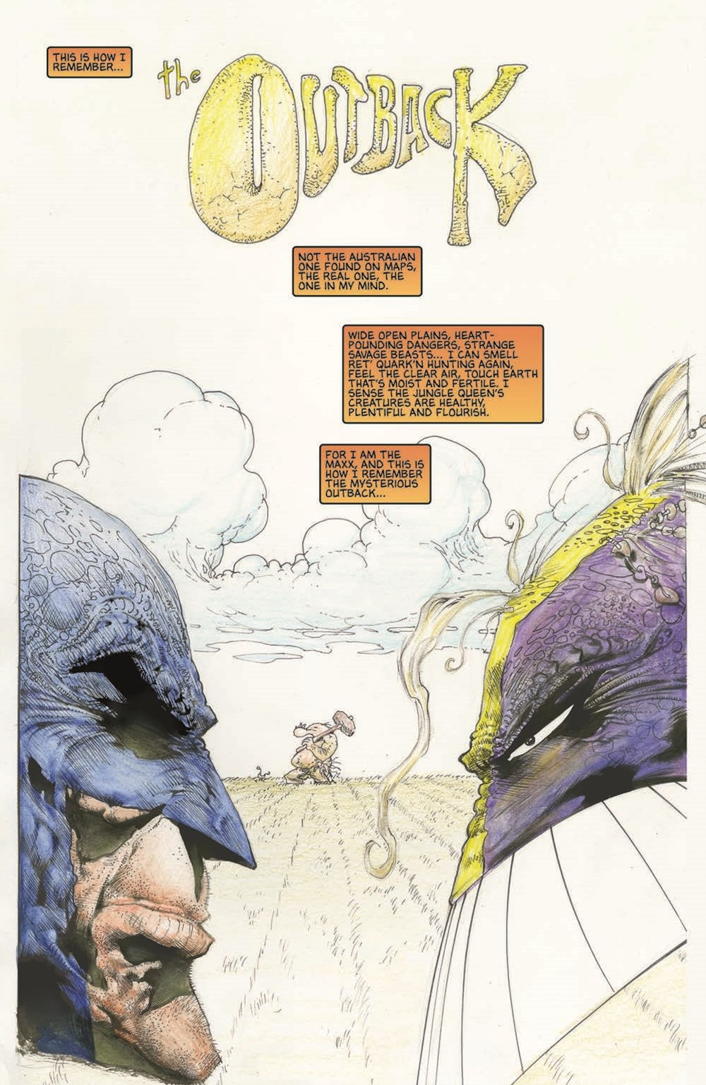 Batman-Maxx-HC_pr-4 ComicList Previews: BATMAN THE MAXX ARKHAM DREAMS HC
