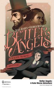 BetterAngels_HC_Cover_Main_PROMO-4-185x300 Third Look at BETTER ANGELS: A KATE WARNE ADVENTURE from BOOM! Studios