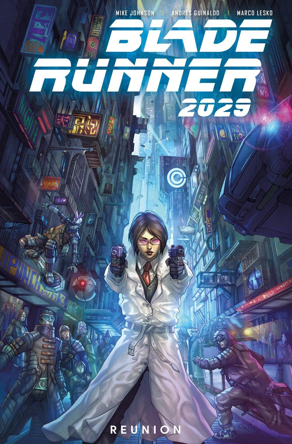 Blade-Runner-2029-Vol-1-Reunion-Cover ComicList Previews: BLADE RUNNER 2029 VOLUME 1 REUNION TP