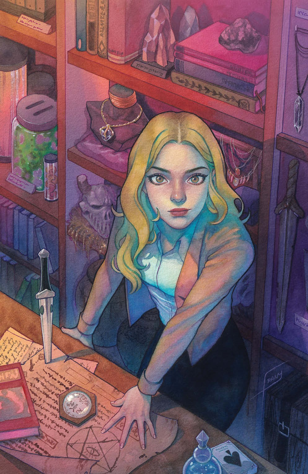 Buffy_028_Cover_C_Variant_Undressed ComicList Previews: BUFFY THE VAMPIRE SLAYER #28