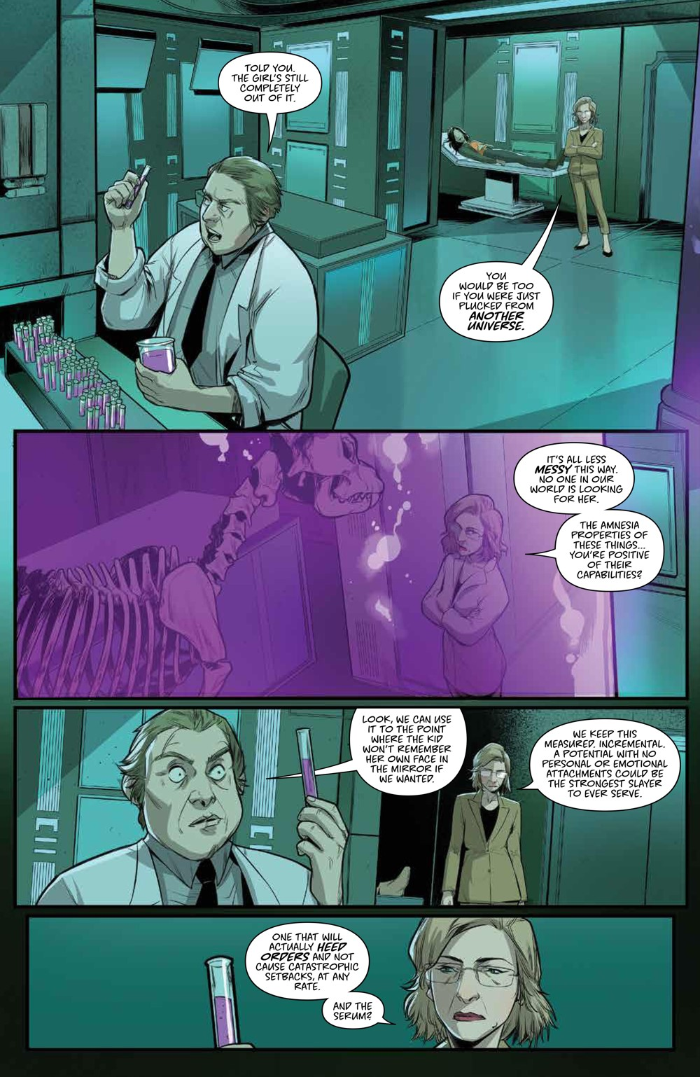 Buffy_028_PRESS_4 ComicList Previews: BUFFY THE VAMPIRE SLAYER #28
