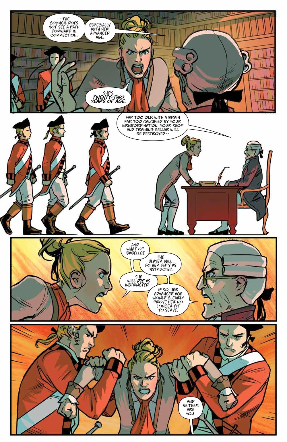 Buffy_v6_SC_PRESS_15 ComicList Previews: BUFFY THE VAMPIRE SLAYER VOLUME 6 SECRETS OF THE SLAYER TP