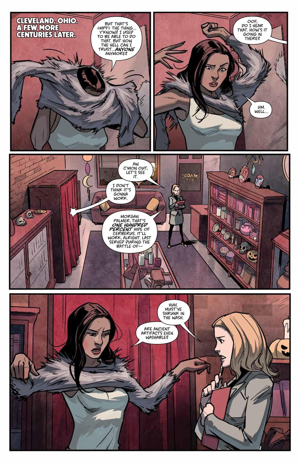 Buffy_v6_SC_PRESS_16 ComicList Previews: BUFFY THE VAMPIRE SLAYER VOLUME 6 SECRETS OF THE SLAYER TP