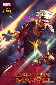 CAPMARV2019033_Variant_Parel-198x300 A Captain Marvel returns in CAPTAIN MARVEL #33