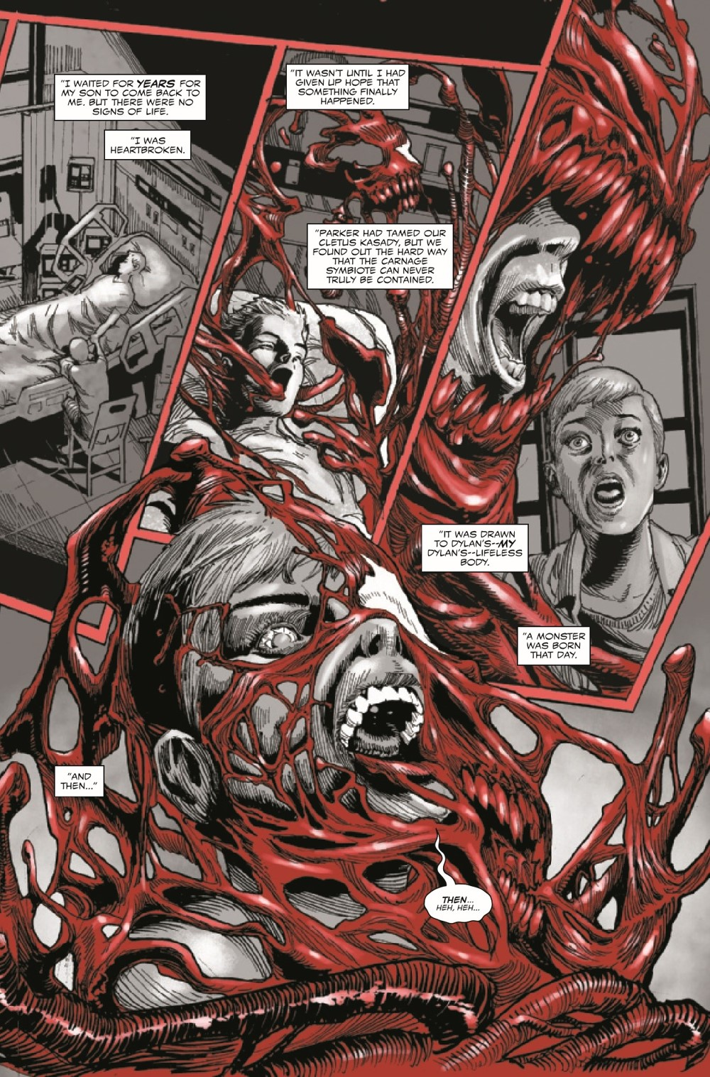 CARNBLKWHBL2021004_Preview-4 ComicList Previews: CARNAGE BLACK WHITE AND BLOOD #4 (OF 4)