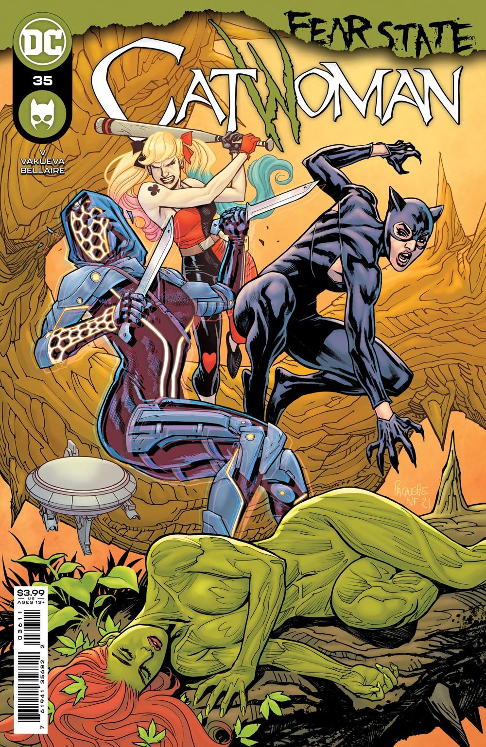 CATWOMAN_Cv36_03611 DC Comics October 2021 Solicitations