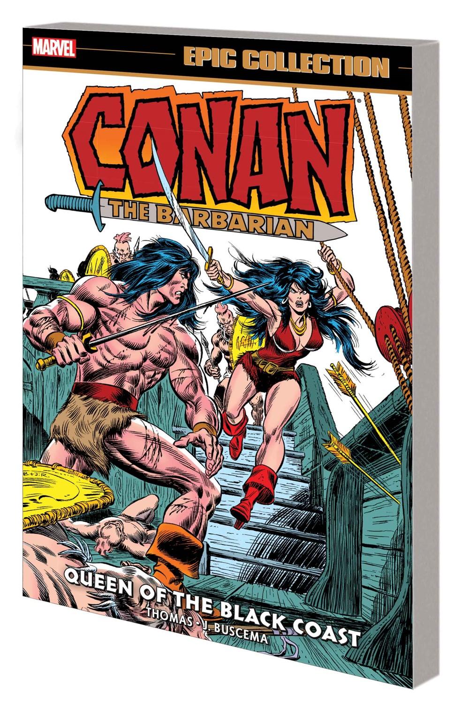 CONANBARBMAREPICV04_TPB Marvel Comics October 2021 Solicitations
